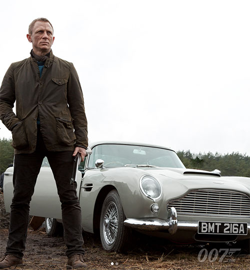 Barbour Beacon Sports Jacket by Daniel Craig