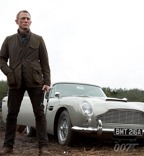 Barbour Beacon Sports Jacket par Daniel Craig