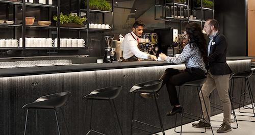 Cafe Air Canada - Barista