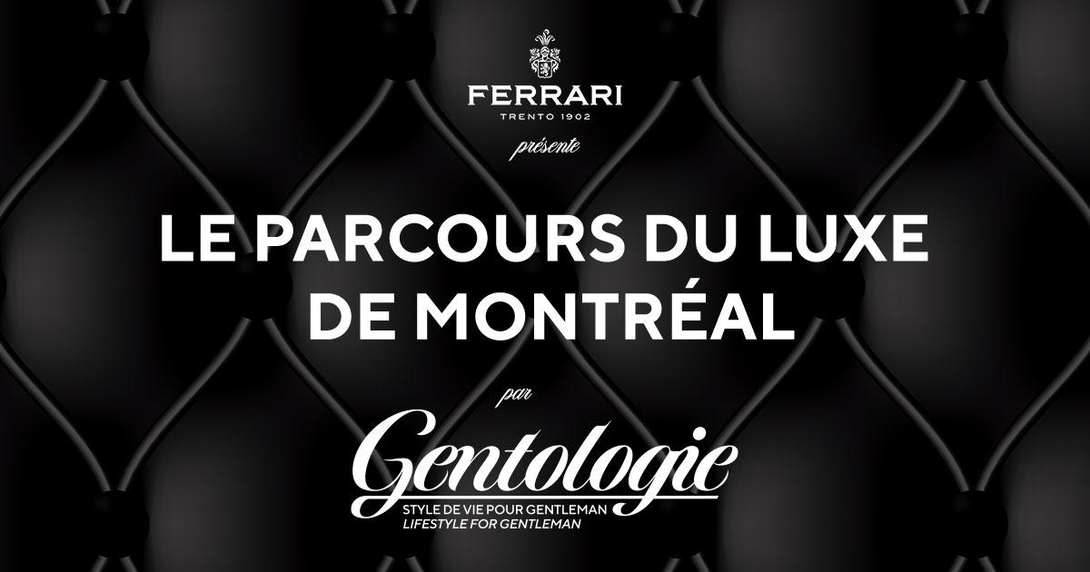 Le Parcours du Luxe de Montréal - Couverture