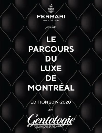 Le Parcours du Luxe de Montreal - Couverture
