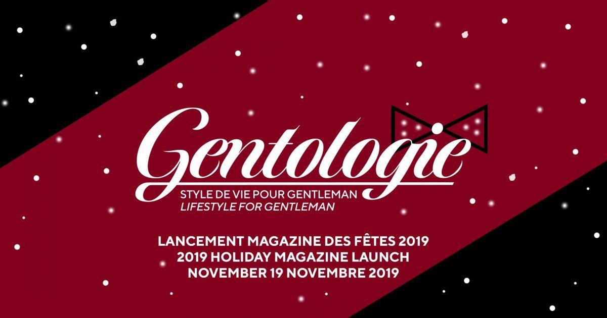 Launch of Gentologie Magazine Holiday 2019