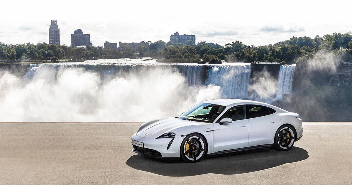Porsche Taycan.  Quand Porsche  devient électrique