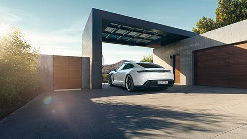 Porsche Taycan - Garage