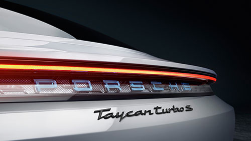 The Porsche Taycan - Trunk