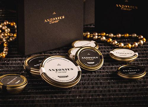 Antonius Caviar - Packaging