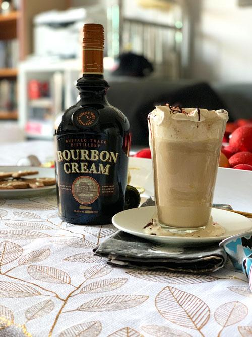 Buffalo Trace Bourbon Cream et Nespresso