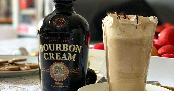 Buffalo Trace Bourbon Cream and Nespresso Coffee