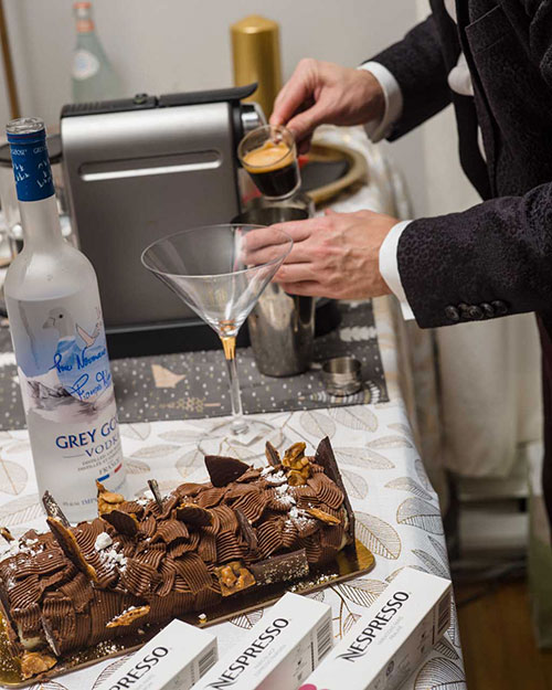 Espresso Martini with Grey Goose- Preparation