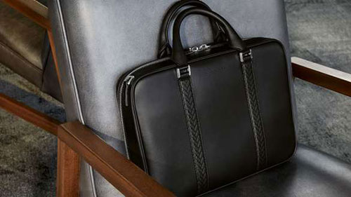 Gentologie Ultimate Gifts List - Montblanc for BMW Document bag