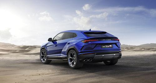 Lamborghini Urus - Blue