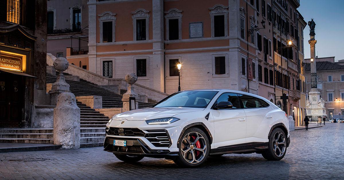 Lamborghini Urus - Cover