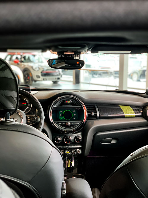 MINI Cooper SE - Tableau de bord