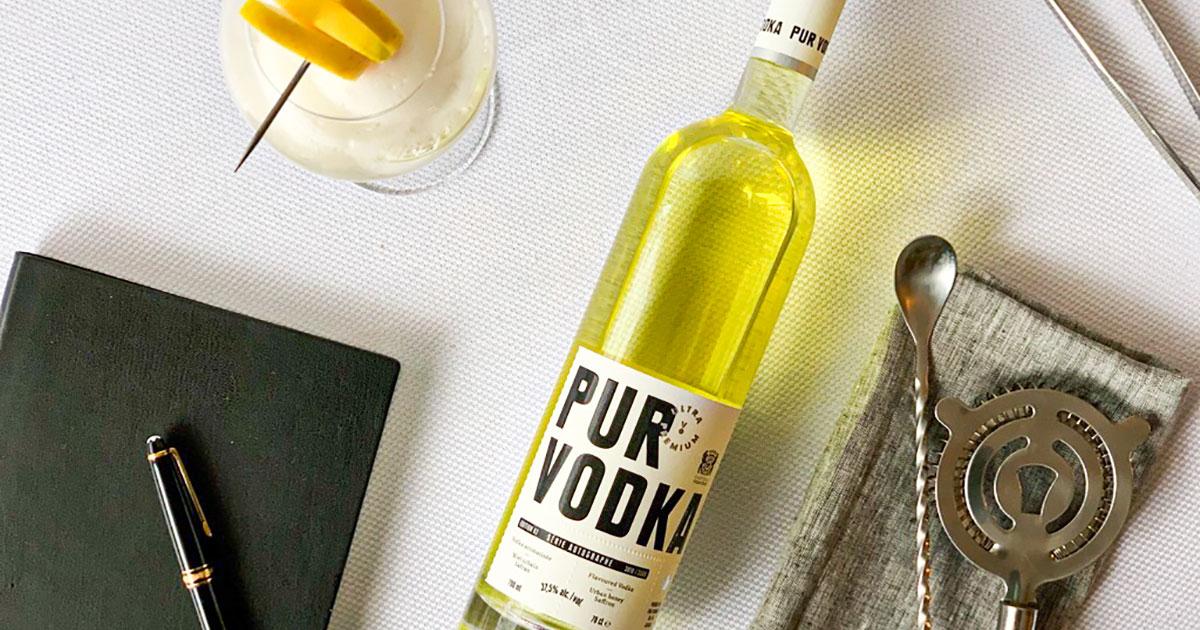 Découvrez la Pur Vodka Série Autographe Fairmont Le Château Frontenac