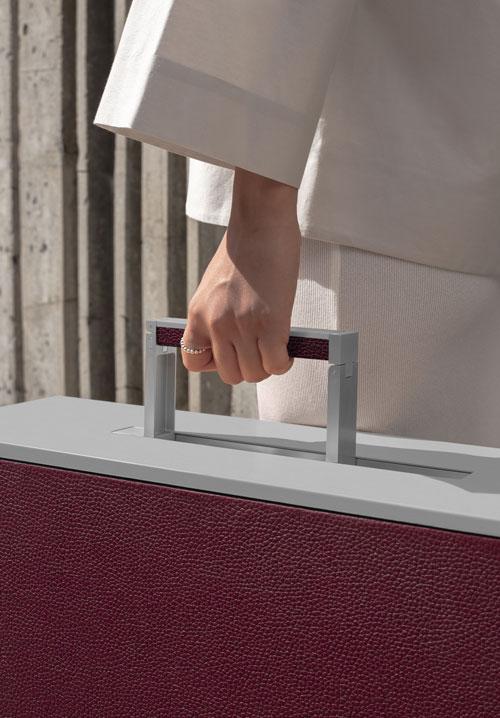 Charles Simon Luxury Luggages - Rupert Aluminum