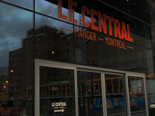 Le Central - Food Halls