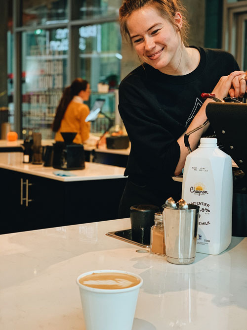 Le Central - The Standard - Loryn Taggart - Barista