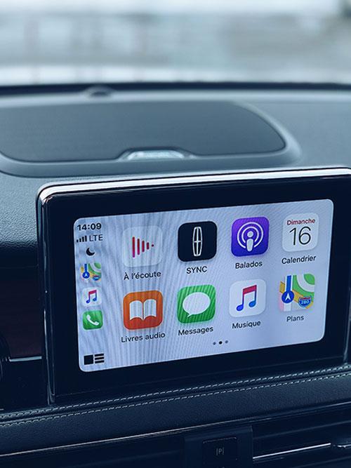 Apple Car Play Lincoln