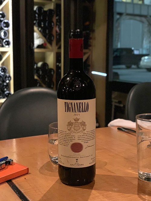Marchesi Antinori - The Tignanello
