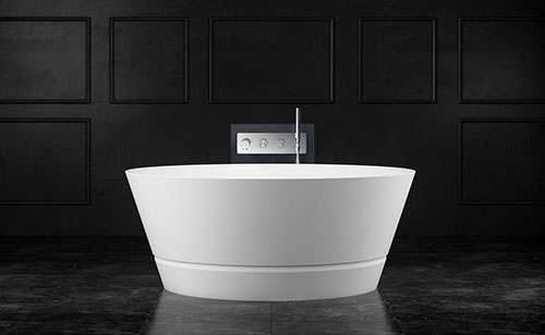 Taizu bath black background