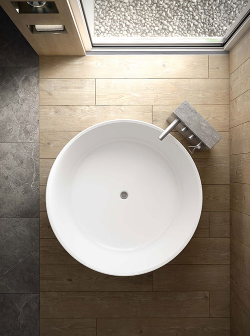 Taizu bath - from top
