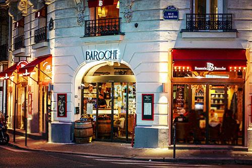 Brasserie Baroche - Paris par Grégory Faye