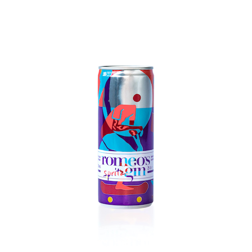 Le Romeo's gin Spritz - can