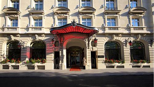 Le Royal Monceau - Paris par Grégory Faye