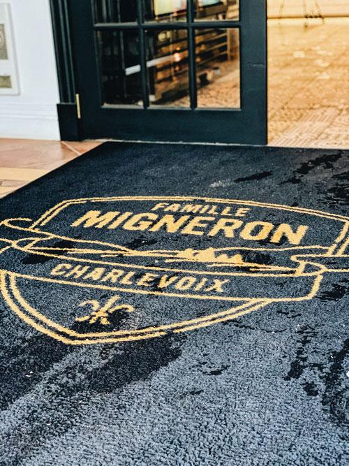 Migneron - Entrance