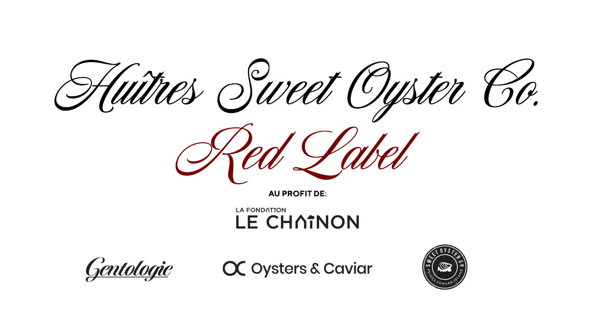 Huitres Sweet Oyster Red Label - Couverture