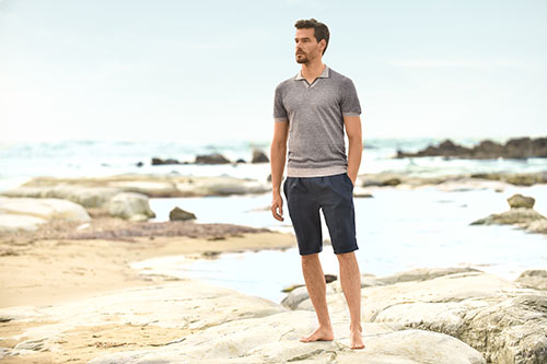 Clusier - Gran Sasso - Shorts and Polo - New Spring Looks at Clusier