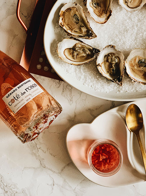 Mother's day - Oysters Rosé