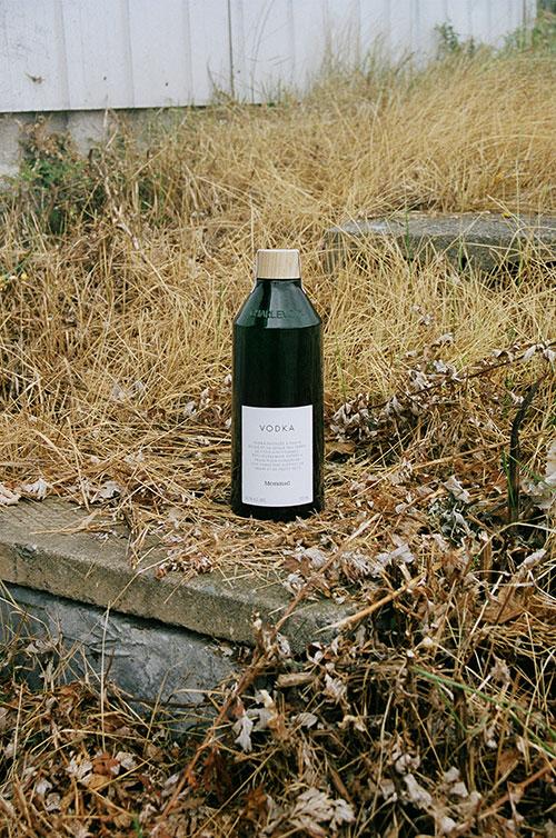 Bottle-Vodka-Menaud of Menaud Distillery and Brewery