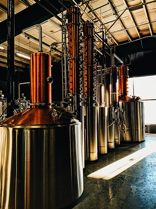 Menaud Distillery and Brewery