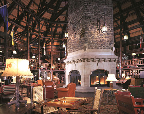 Fairmont-Le-Chateau-Montebello----The Lobby