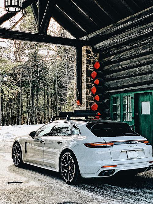 Fairmont-Le-Chateau-Montebello----The Porsche-Panamera-4-E--Hybrid