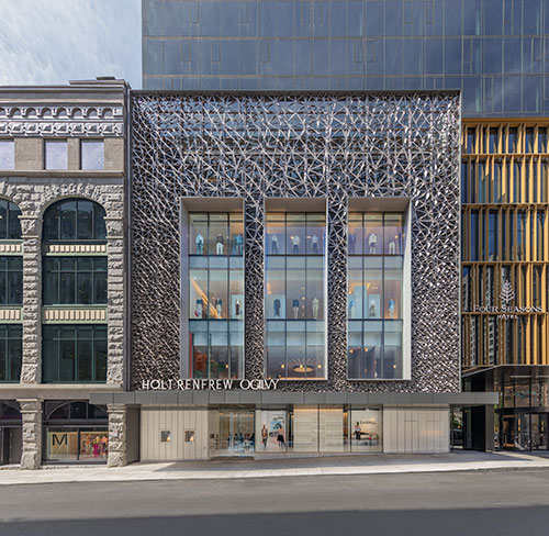 Holt-Renfrew-Ogilvy -- Facade-Four-Seasons