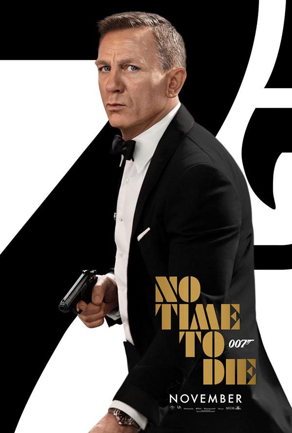 James-Bond - Mourir-peut-attendre-Affiche-Novembre