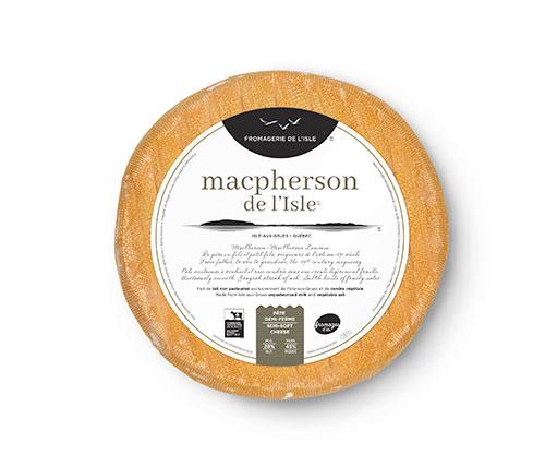 Macpherson---Etiquette Fromagerie de l'Isle
