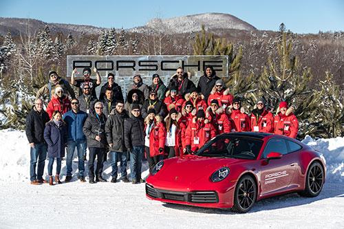 La-Porsche-Ice-Experience-Participants