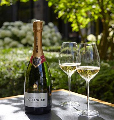 Champagne Bollinger-verres
