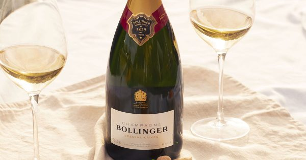 The Champagne-Bollinger-Cover
