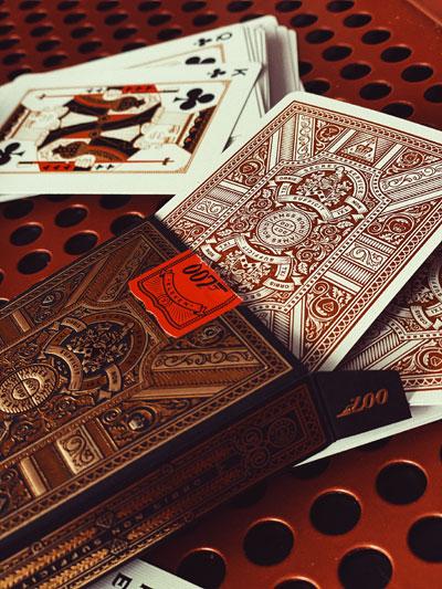Une partie de cartes avec James Bond