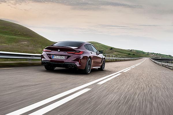 BMW-M8-Competition-Gran-Coupe---Arrière