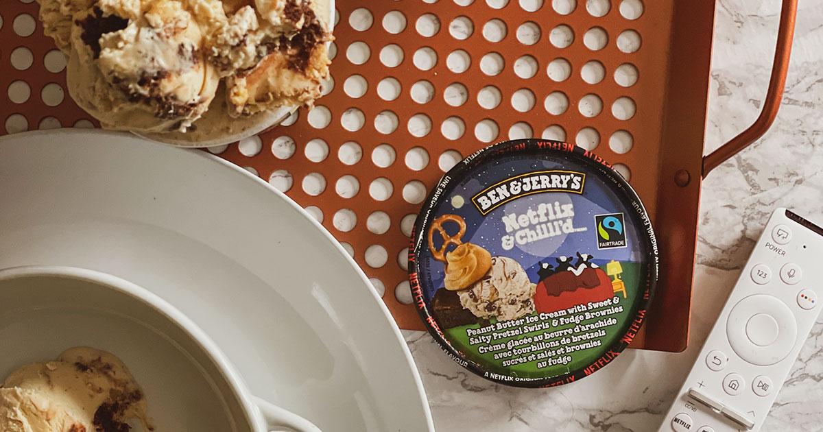 Couverture---crème glacée Netflix & Chilll'd