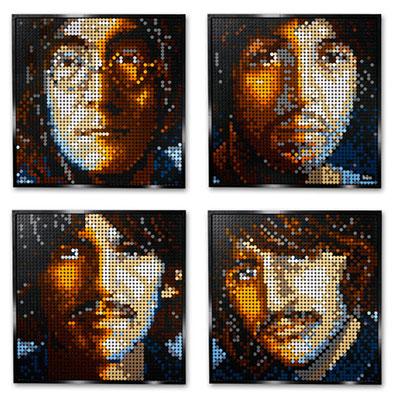 LEGO-Art-The-Beattles