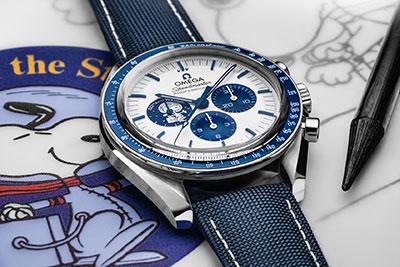 OMEGA Speedmaster Série Anniversaire « Silver Snoopy Award »