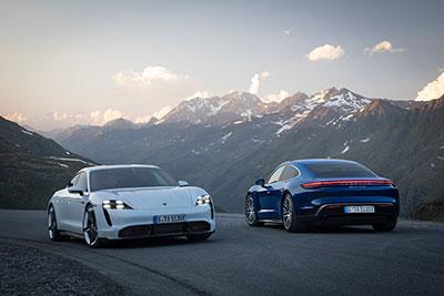 Porsche-Taycan---Modèles