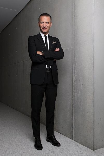Raynald Aeschlimann, President and CEO of OMEGA Watches