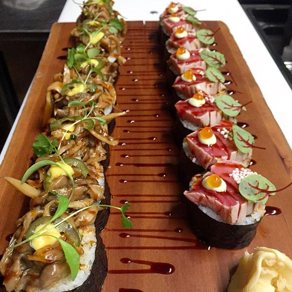 Antonio-Park-Restaurant-Sushi---Valentine's-Day-Menu - Suggestions for a Gourmet Valentine's Day